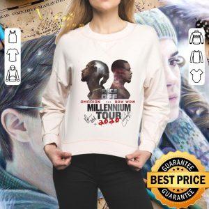 Top Face Dee Omarion Bow Wow The Millennium Tour Signatures shirt
