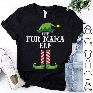 Top Fur Mama Elf Matching Family Group Christmas Party Pajama sweater