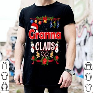 Top Granna Claus Christmas Pajama Family Matching Xmas Shi sweater