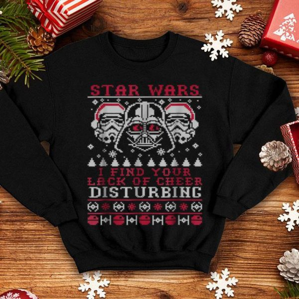 Top Star Wars Lack Of Cheer Vader Christmas Sweater sweater