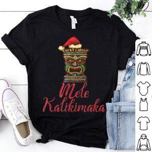 Top Tiki Mele Kalikimaka Hawaiian Merry Christmas Funny Gift sweater