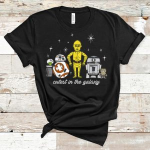 Awesome Cutest In The Galaxy Star Wars Babu Frik & Droids shirt