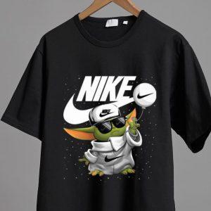 Hot Star Wars Baby Yoda Nike shirt