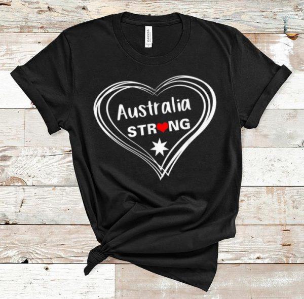 Official Australia Strong Pray For Australia shirt