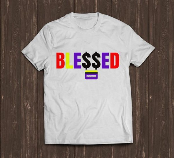 Official Ble$$ed With Money shirt