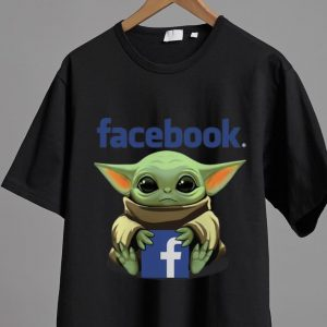 Official Star Wars Baby Yoda Hug Facebook shirt