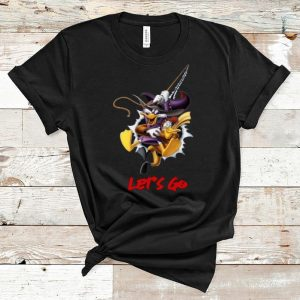 Premium Disney Duck Donald Let's Go shirt