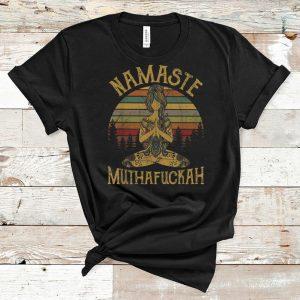 Premium Vintage Namaste Yoga Muthafuckah shirt