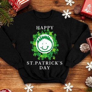 Awesome Happy St Patricks Day Cute Gift Funny Shamrock Kids shirt