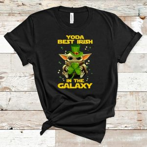 Great Baby Yoda Best Irish In The Galaxy shirt