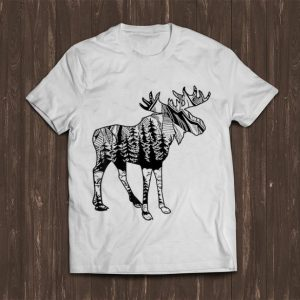 Great Moose Sighting Forest Minnesota State shirt