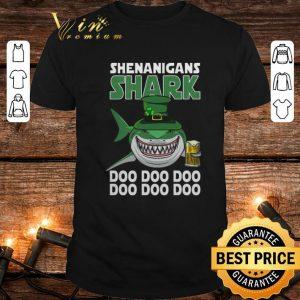 Hot Shenanigans Shark Doo Doo Doo St Patrick's Day shirt