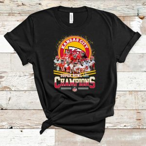 Hot Super Bowl Liv Champions Kansas City Chiefs Nfl shirt