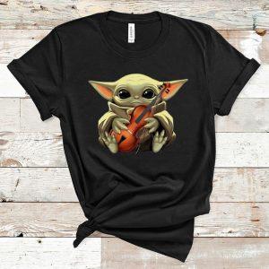 Nice Baby Yoda And Violin shirt