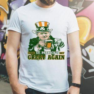 Nice Trump Lover Gifts Make St Patricks Day Great Again Men Women shirt