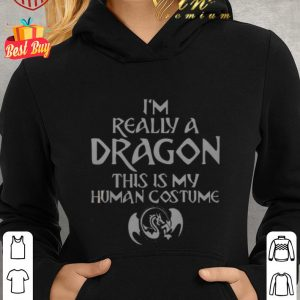 Top I'm really a dragon this is my human costume shirt