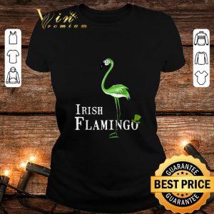 Top Irish Flamingo St. Patrick's day shirt