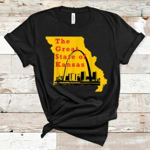 Top Kansas City Chiefs The Great State Of Kansas Trump shirt