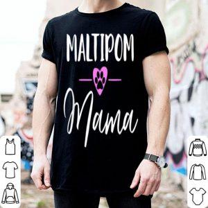 Awesome Maltipom Mama shirt