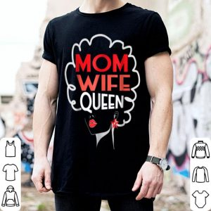 Awesome Mom Wife Queen Black African American Mothers Day shirt