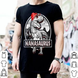 Awesome Nanasaurus Mother Dinosaur Gift For Mothers Day shirt