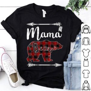 Awesome Nice Mama Bear Mother's Day Gifts Mom Mommy Buffalo Plaid shirt
