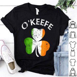 Awesome O'keefe Irish Shamrock St Patricks Day shirt