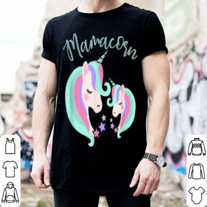 Awesome Unicorn Lover Mamacorn Women Mom Mother Daughter Present shirt