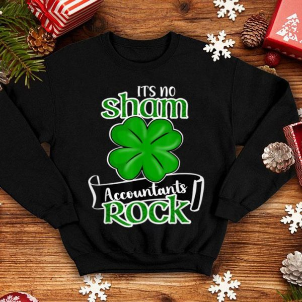 Beautiful Accountant Funny St Patricks Day Accountant Christmas Gift shirt