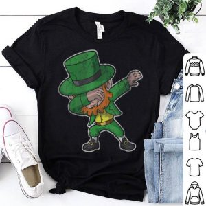 Beautiful Dabbing Leprechaun St Patricks Day Kids Boys Women Men shirt