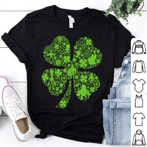 Beautiful Marvel Super Heroes Green Shamrock St. Patrick's Day shirt