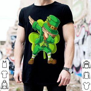 Beautiful St Patricks Day Dabbing Leprechaun Boys Kids Men Gifts Dab shirt
