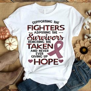 Breast Cancer Supporting the fighters admiring the survivors taken shirt