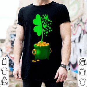 Nice Shamrock Green Chicken St Patrick's Day Farmer Irish Gifts shirt