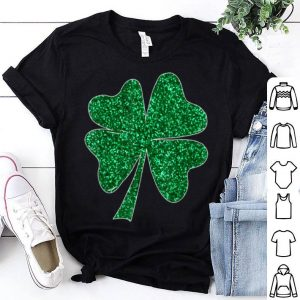 Nice Sparkle Clover Shamrock Irish For St Patricks & Pattys Day shirt