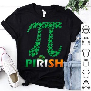 Official Math Teacher - Shamrock St Patrick's Day Pirish Irish Gift shirt