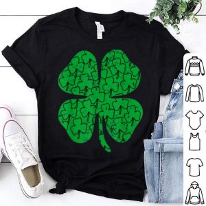 Official Shamrock Clover St Patricks Day Girls Boys Toddler shirt