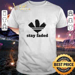 Original Adidas Logo Barber Stay Faded shirt