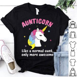 Original Aunticorn Like An Aunt Only Awesome Unicorn Mother Day Gift shirt