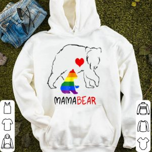 Premium Lgbt Mom Mama Bear Lgbt Mothers Gift Rainbow shirt