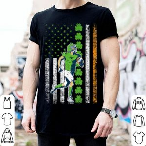 Pretty Irish American Flag Lucky Rugby St. Patrick's Day shirt