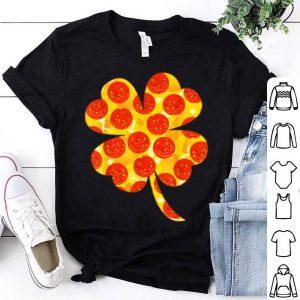 Top Irish Shamrock Pizza St Patrick's Day Pizza Lover shirt