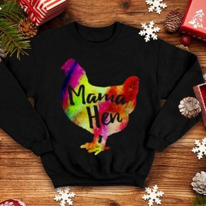 Top Mama Hen Pet Chicken Mother Farmer Colorful shirt