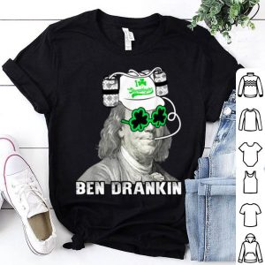 Top Vintage Ben Drankin Beer - St. Patrick's Day Apparel Holiday shirt