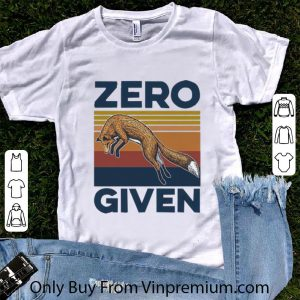 Awesome Vintage Fox Zero Given shirt