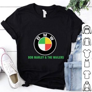 Bob Marley & the wailers BMW logo shirt