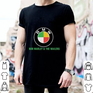 Bob Marley & the wailers BMW logo shirt 1