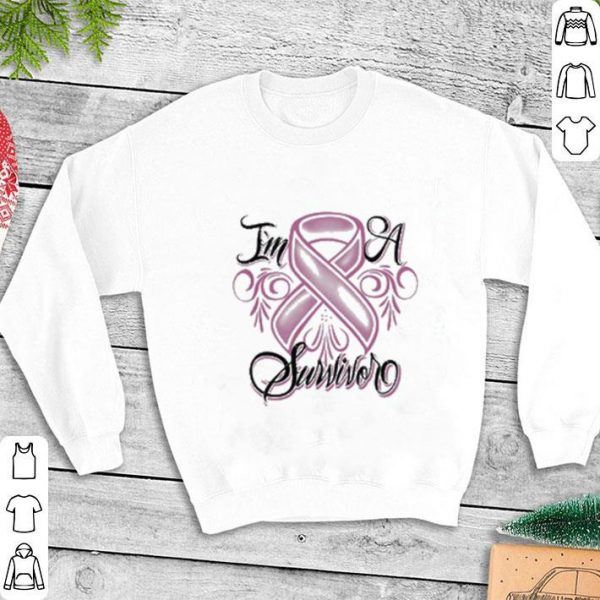 Breast cancer I'm a survivor shirt