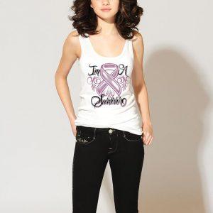 Breast cancer I'm a survivor shirt 2