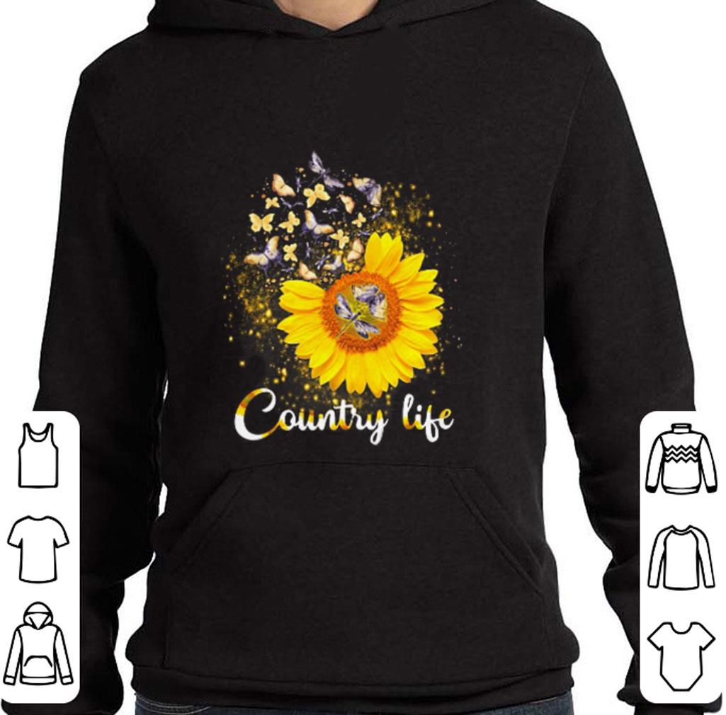 Butterfly Sunflower Country life shirt 4 - Butterfly Sunflower Country life shirt